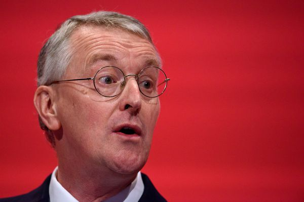Hilary Benn, the Shadow Foreign Secretary who's broken with his party to support airstrikes in Syria.