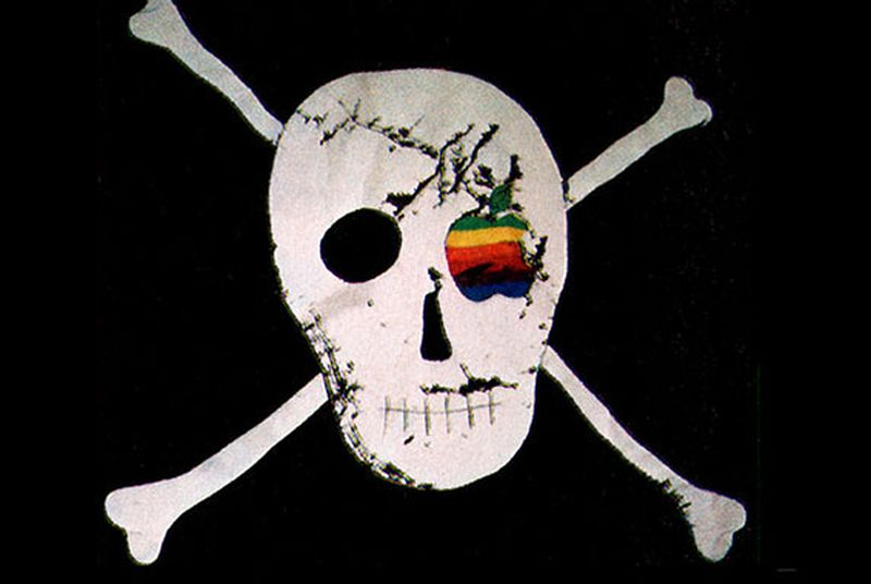 Macintosh designer is selling $1,900 replicas of Apple's legendary pirate flag