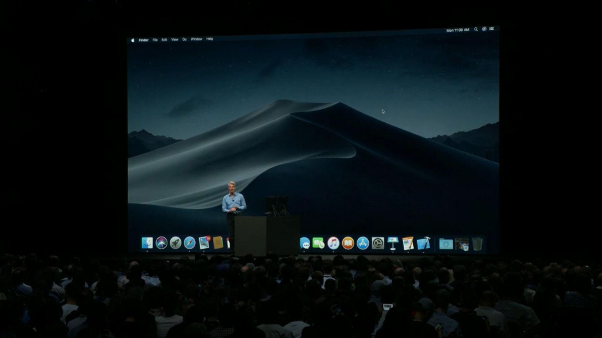 Macos Mojave Update Announced With Dark Mode Desktop Stacks
