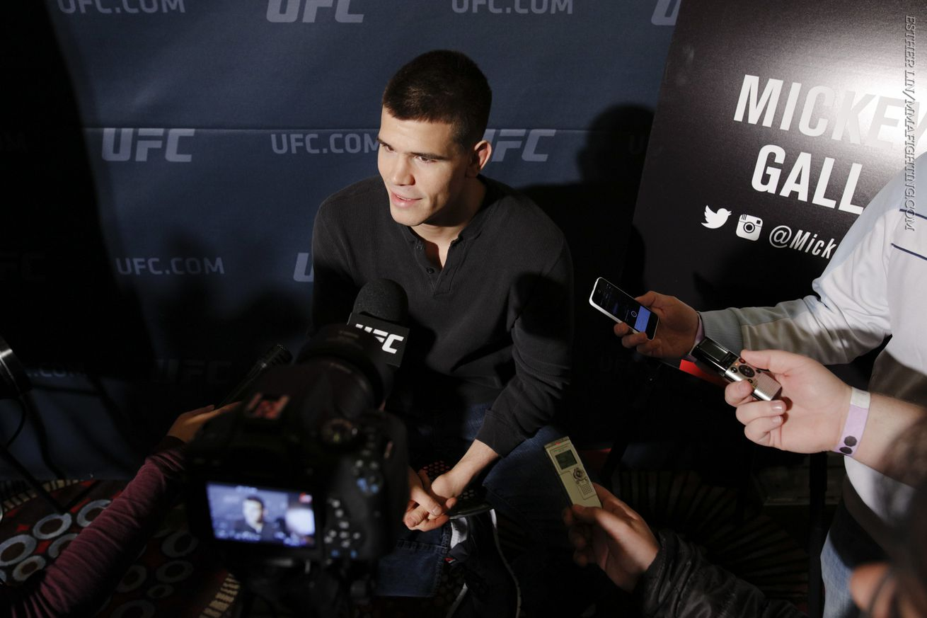 community news, Mickey Gall doesnt want to be known as 'CM Punk guy' after UFC 203