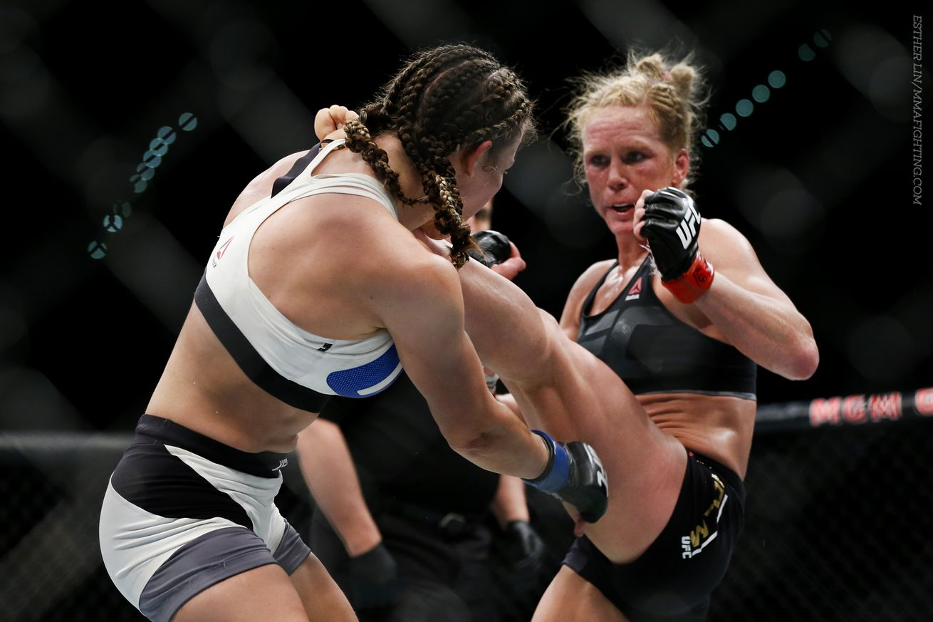 Holly Holm willing to fight Cris Cyborg at 140 pounds