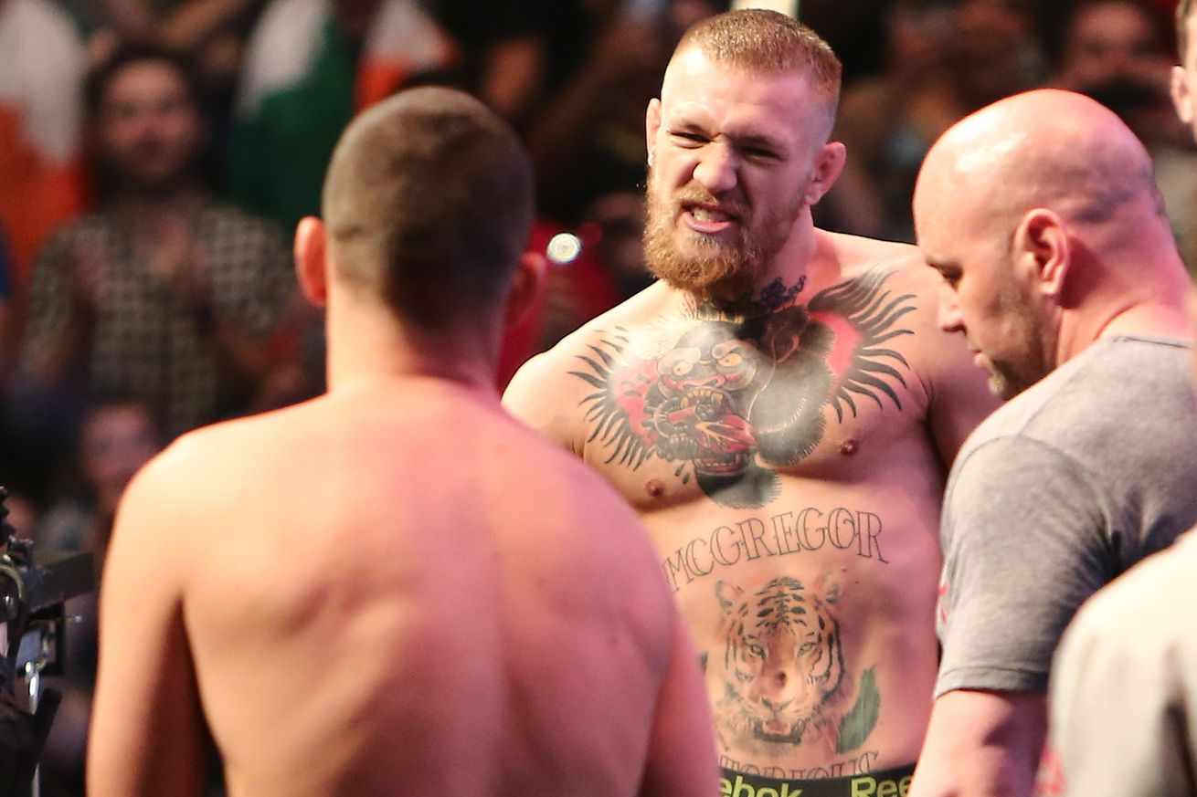 community news, Dana White: Conor McGregor jumped two weight classes, Georges St Pierre wouldnt even jump one
