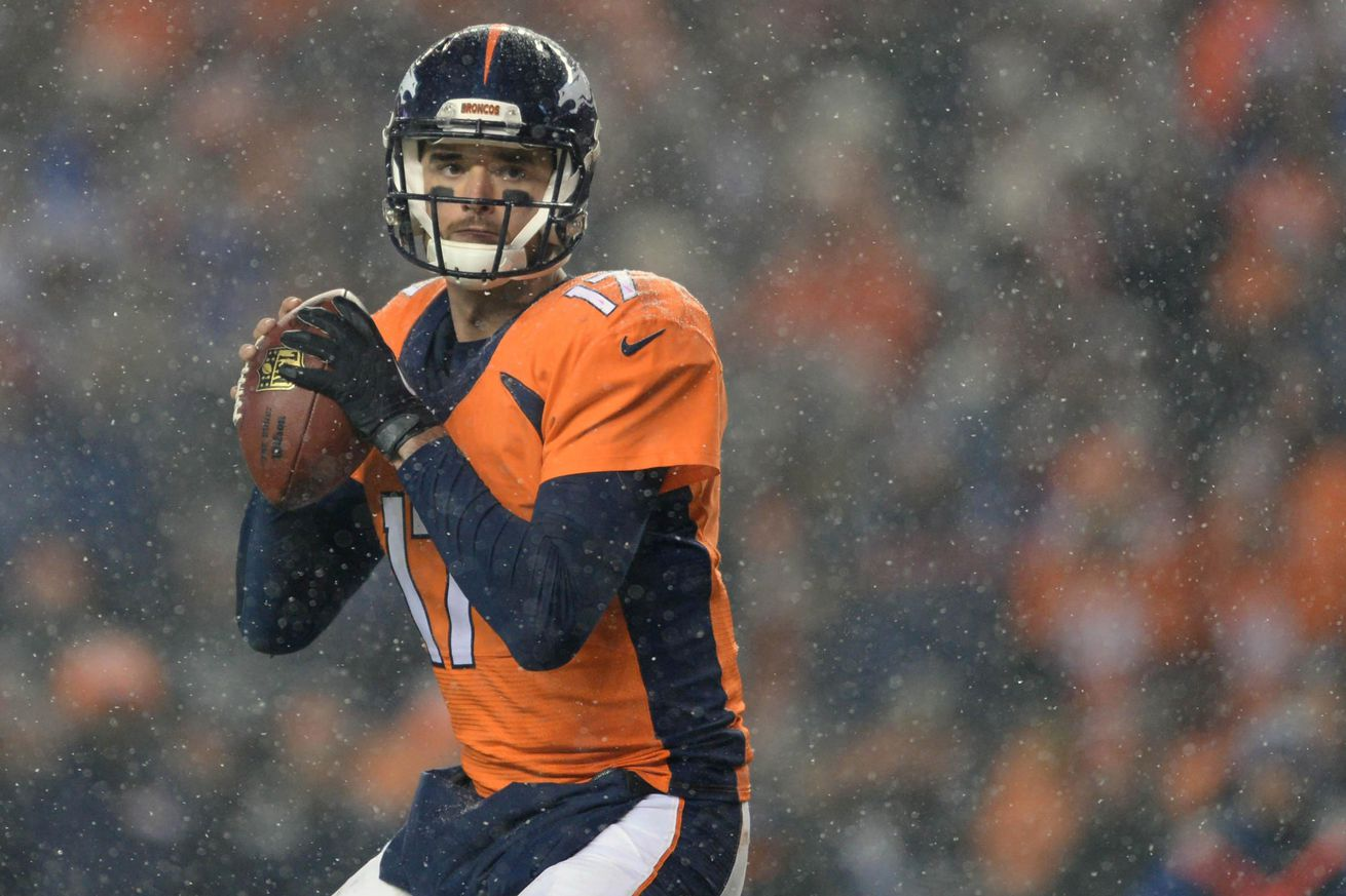 With Manning's retirement, Broncos QB Osweiler expected to hit market