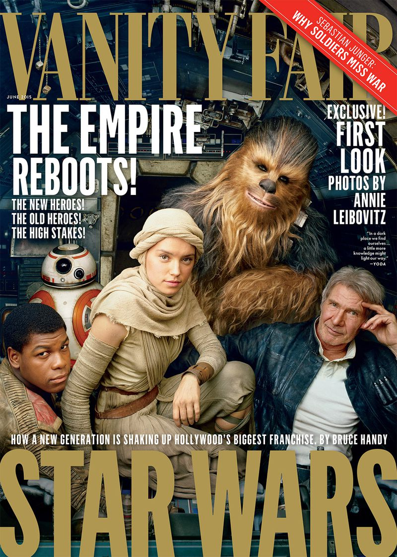 annie leibovitz star wars vanity fair