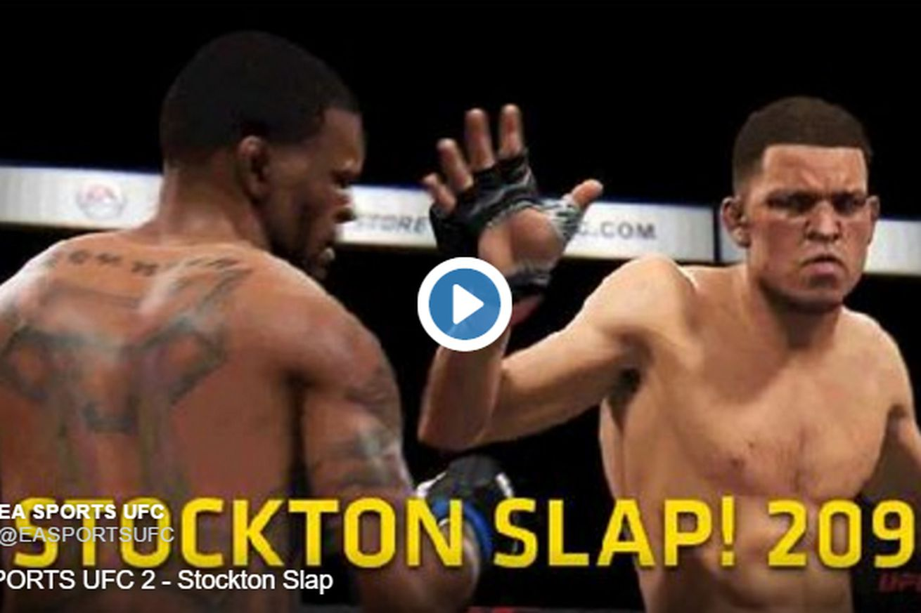 community news, Video: EA Sports adds Stockton Slap to UFC video game and heres how you do it