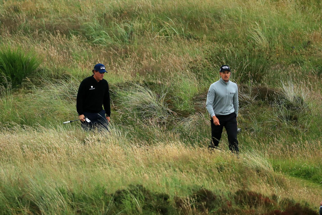 Stenson sets four-day total Open record in first major win