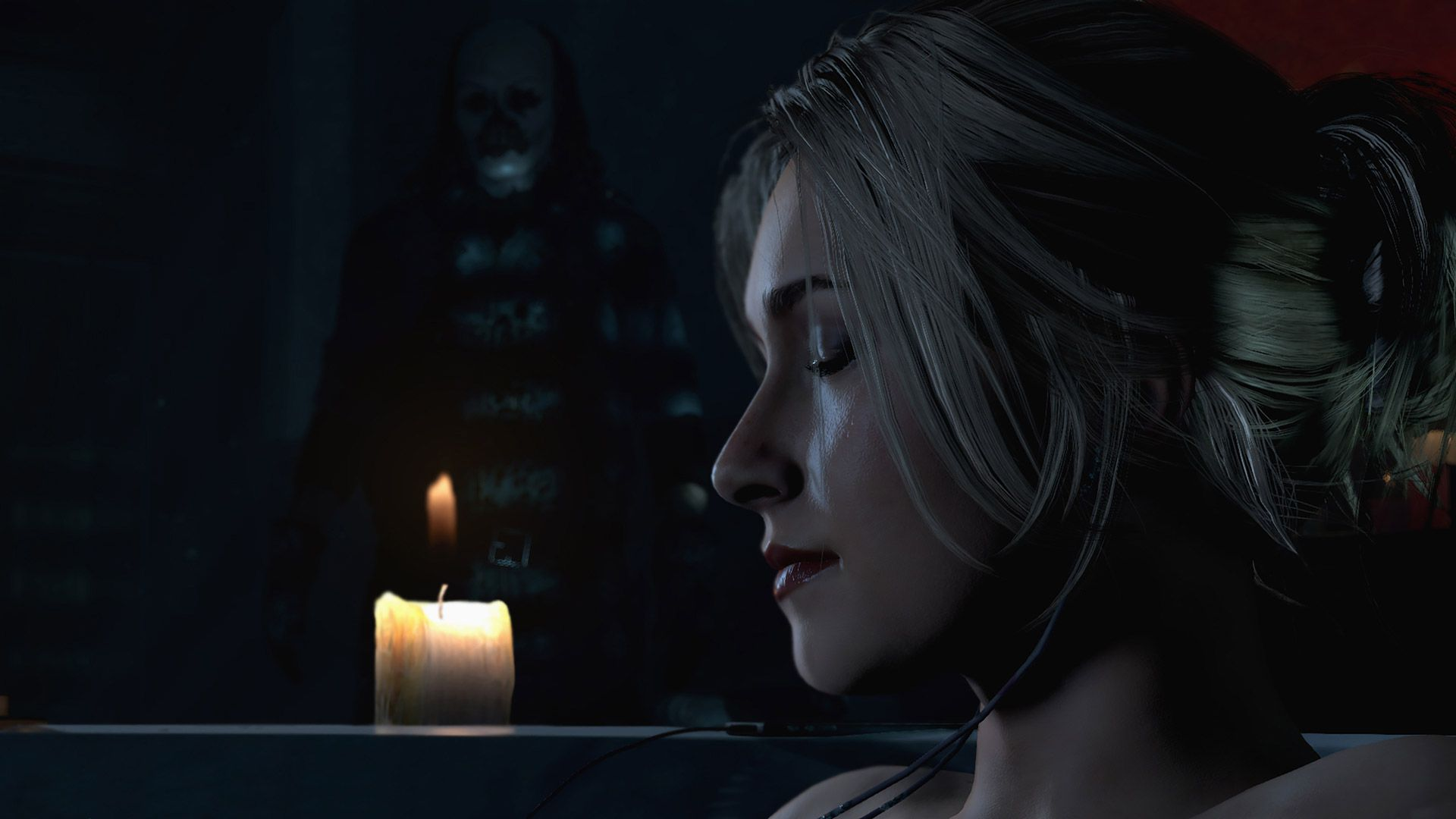 Until Dawn Sam stalked by killer