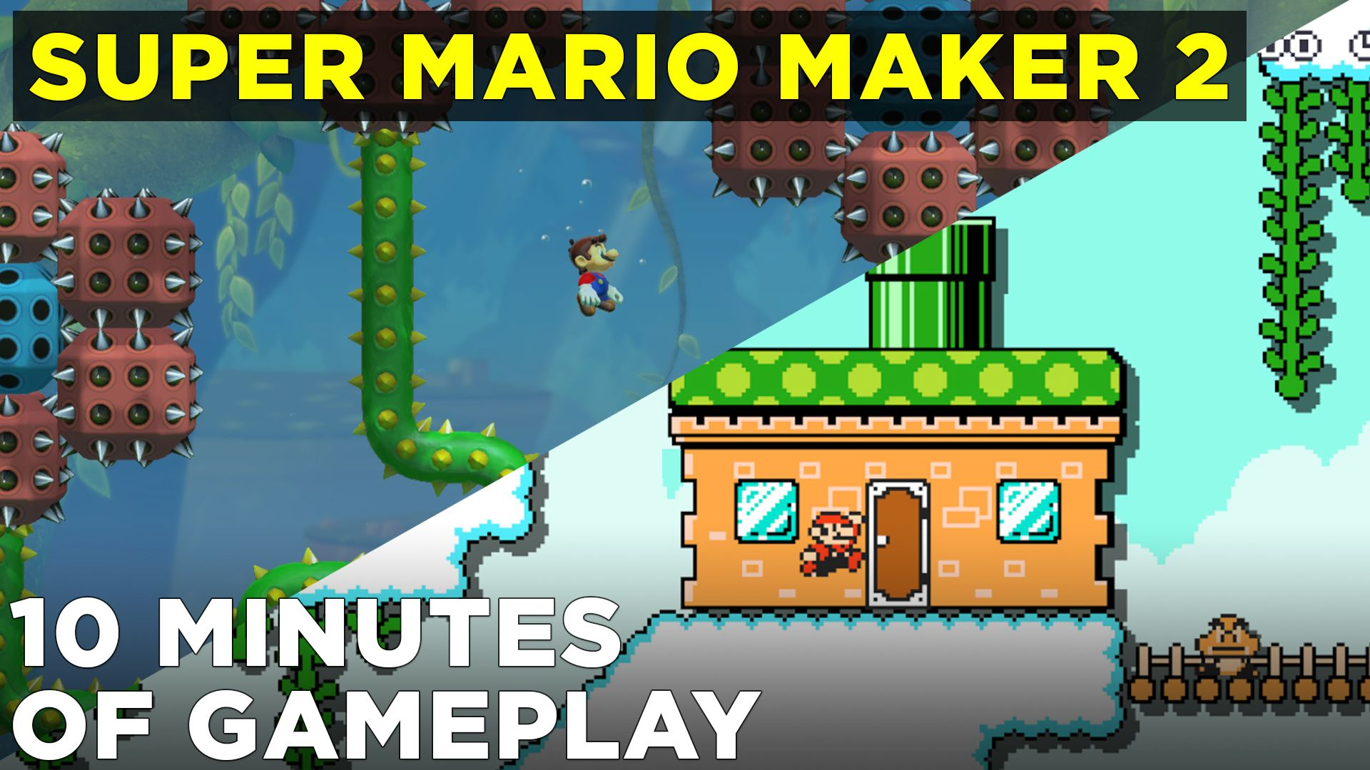 Super Mario Maker 2 hands-on preview with multiplayer mode - Polygon