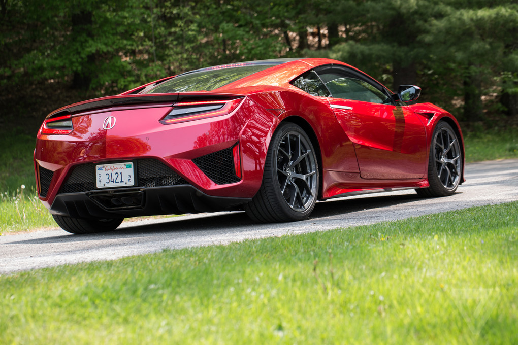 2017 Acura NSX review: a gentler supercar | The Verge