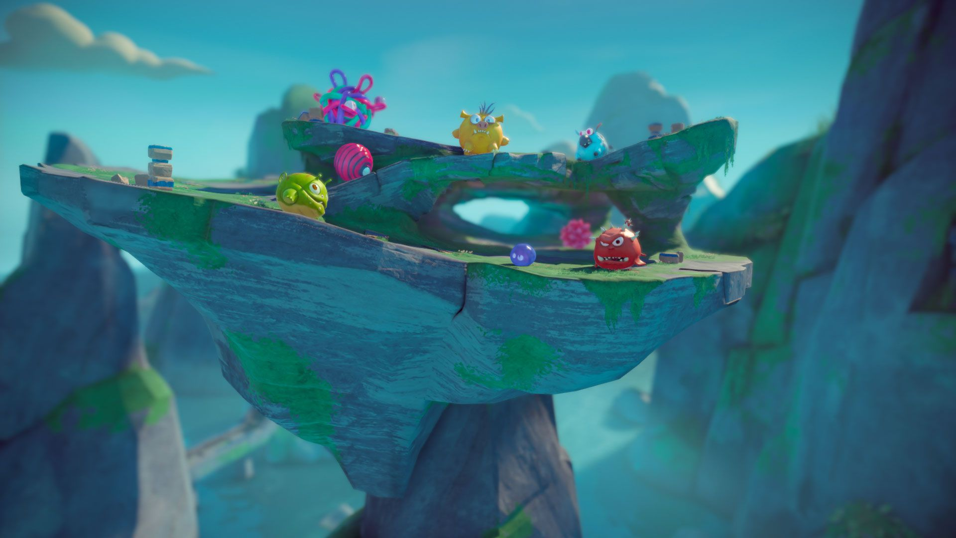 Deformers is a smash em up arena brawler from ready at dawn and it