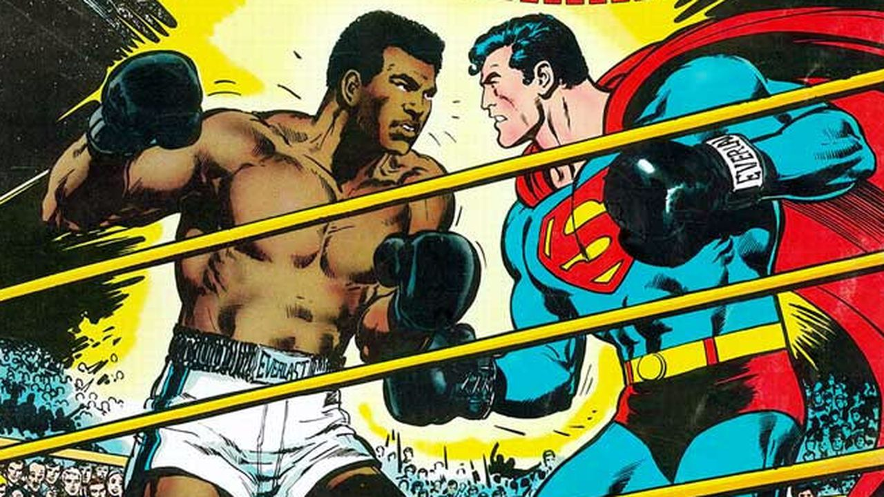 muhammad ali the superman Find great deals on ebay for superman vs muhammad ali shop with confidence.