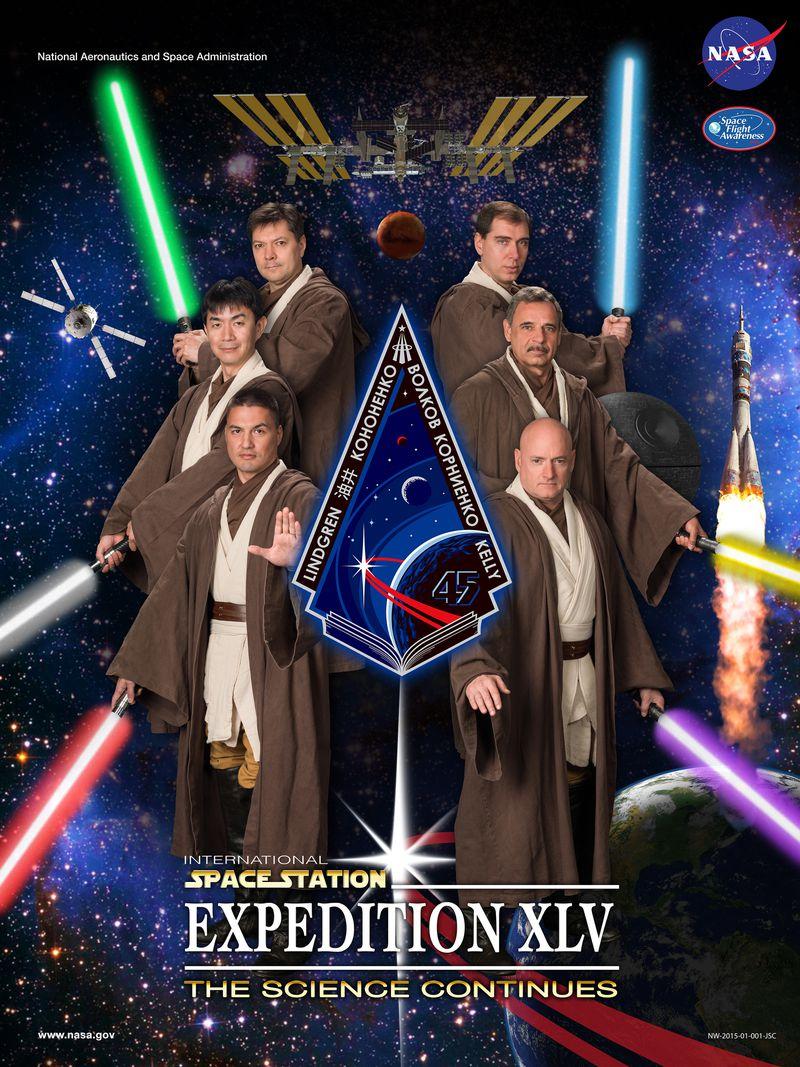 Star wars ISS Crew