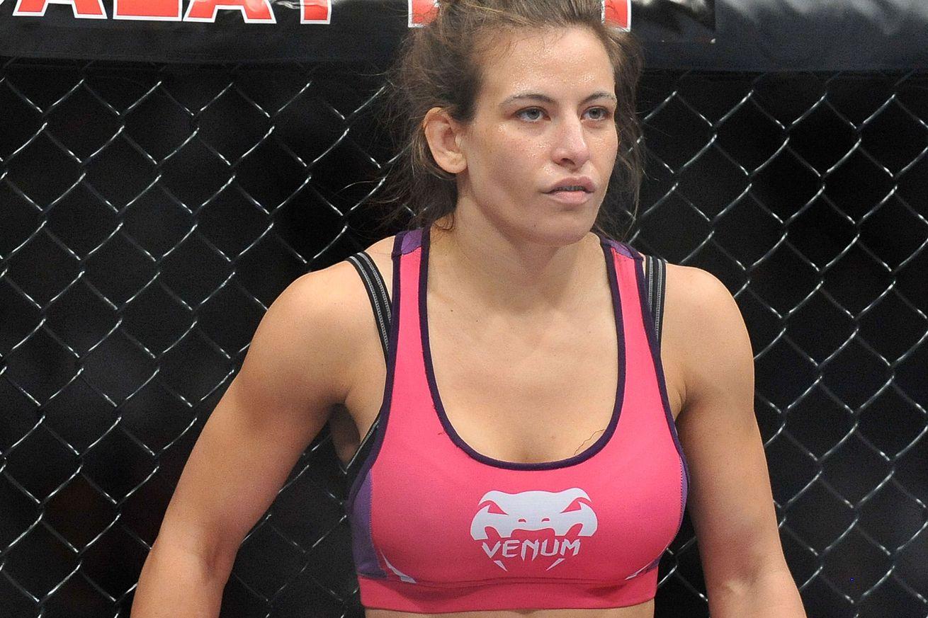 Photo emerges showing Miesha Tate during the weight cut ...