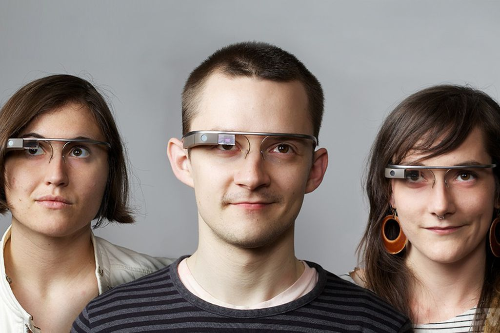 Google Glass - Magazine cover