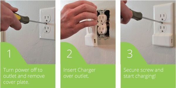 SnapPower charger, Home Tech, USB Ports, Wall Outlets, DIY