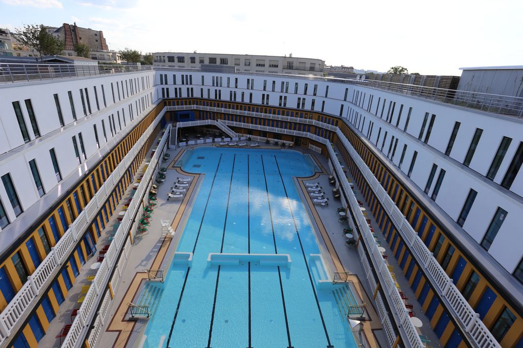 swimming in luxury an iconic pool is reborn in paris