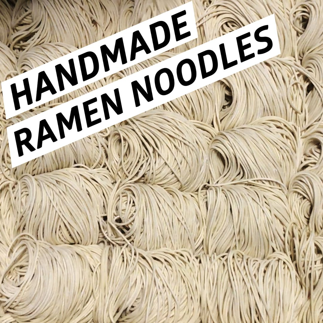 See How the Noodles Are Made at Menya Ultra Ramen