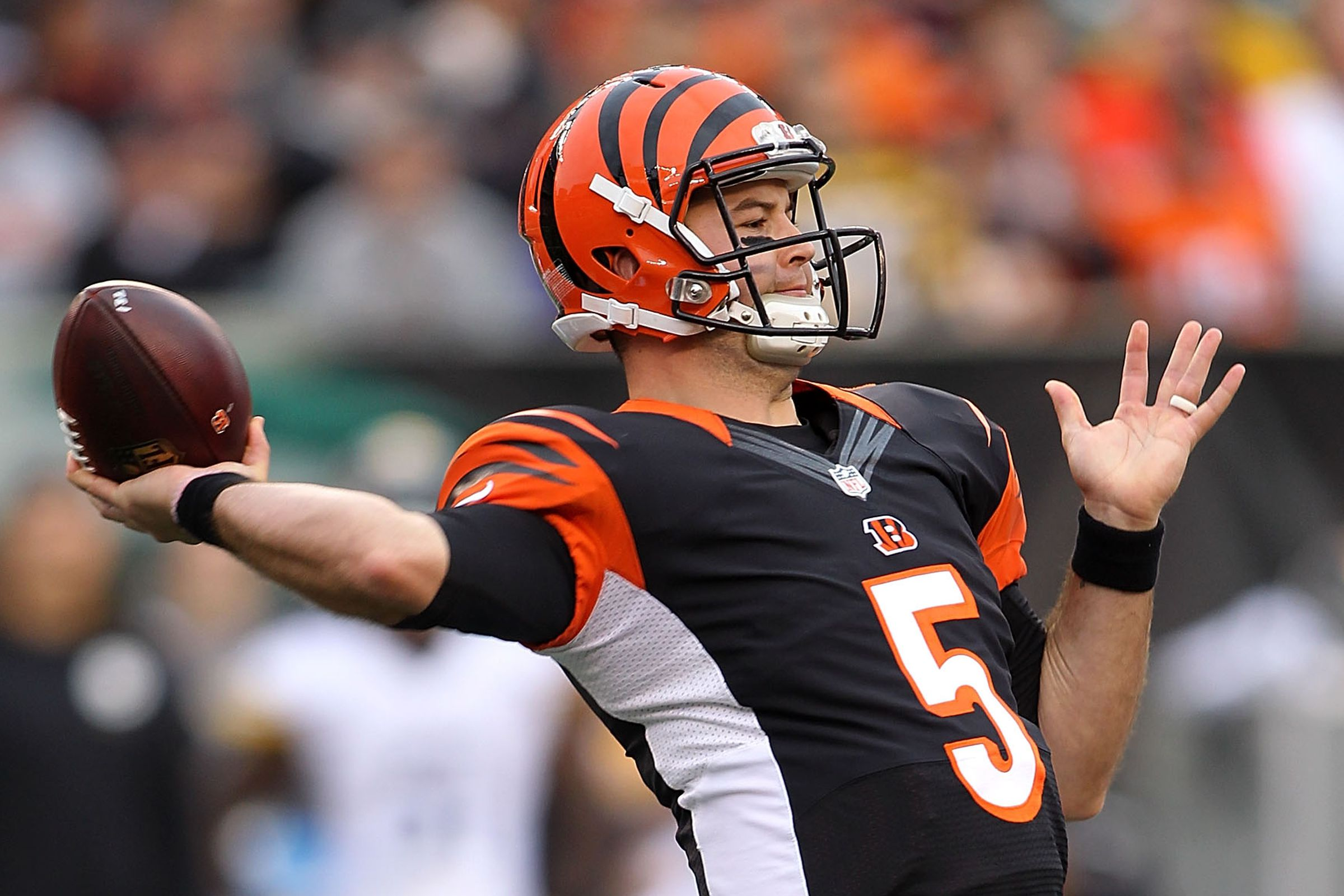 Bengals fans: AJ McCarron is here to stay