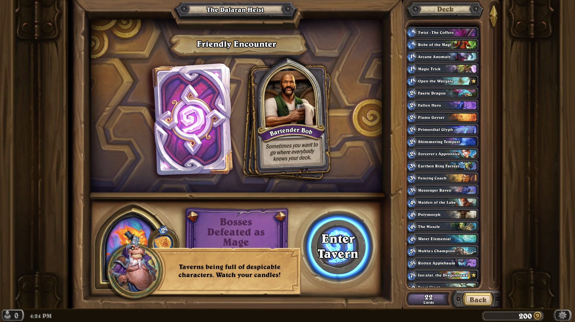 Hearthstone's Dalaran Heist gives the game's solo campaign a big