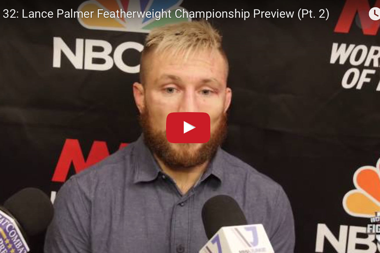 Video: Lance Palmers quest for redemption at WSOF 32 continues (Pt. 2)