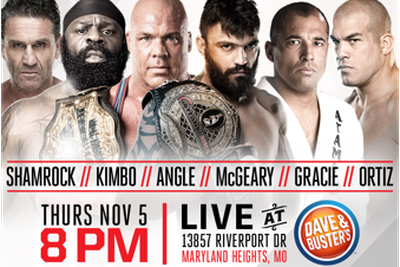 Bellator MMA signs Kurt Angle, Olympic gold medalist to appear at Bellator 145s Fan Fest