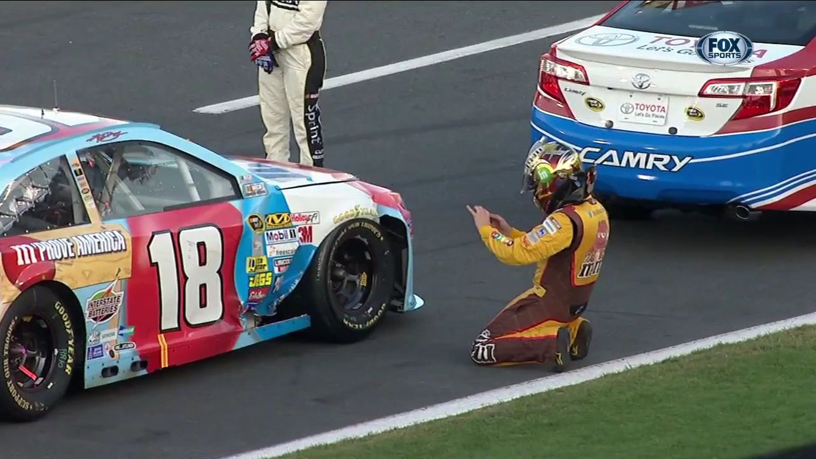 Nascar Charlotte 2013 Fans Injured When Tv Cable Snaps