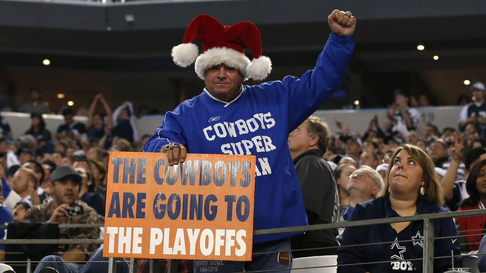 Cowboys winning a 4-way NFC East tie is one of the NFL's ...