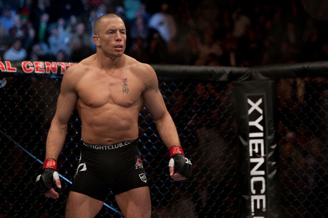 community news, Georges St Pierre talking to UFC more seriously: Reebok deal a hang up