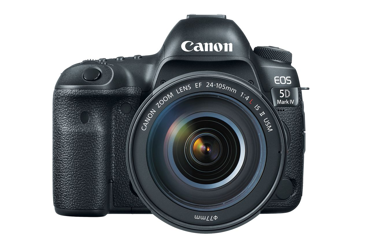 Canon EOS 5D Mark IV DSLR camera unveiled