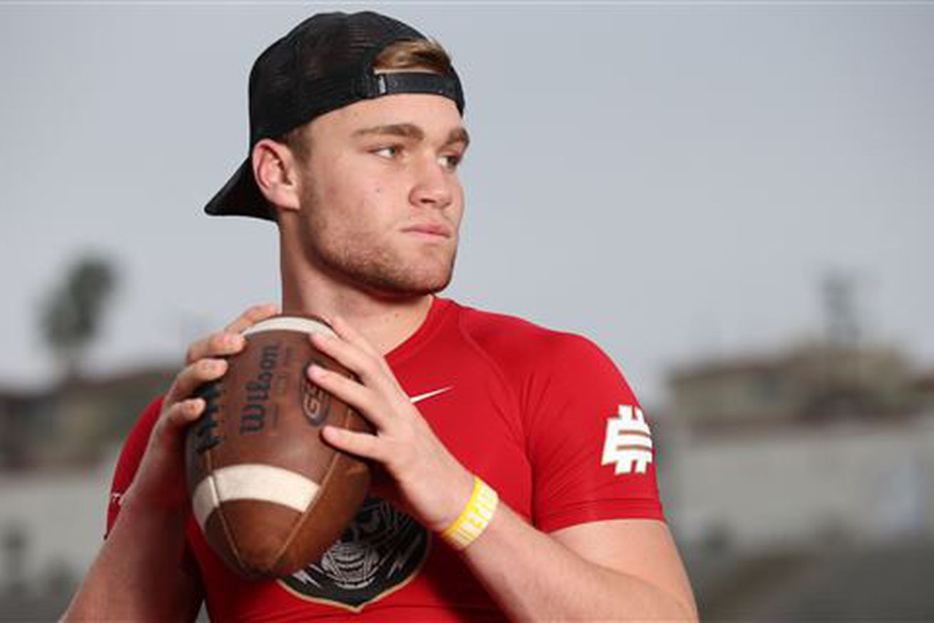 5-star QB Tate Martell has Miami in his new top 7 - State