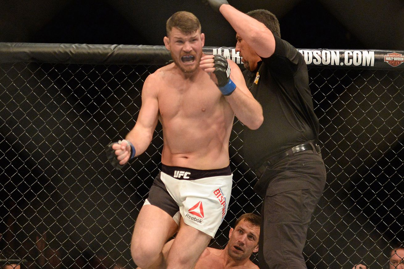 Michael Bisping Will Defend Title Against Rival Dan Henderson in October