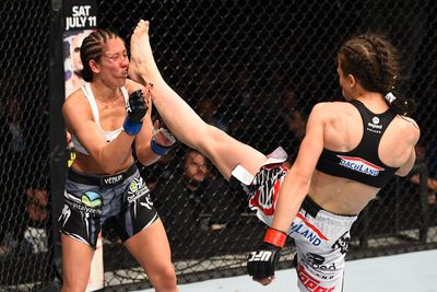 UFC Fight Night 69 in Tweets: Pros react to Joanna Jedrzejczyk vs. Jessica Penne, more