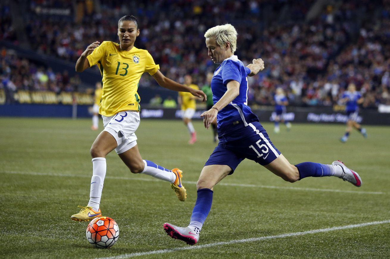 Meghan Rapinoe selected for 2016 US Olympic Women's Soccer Team
