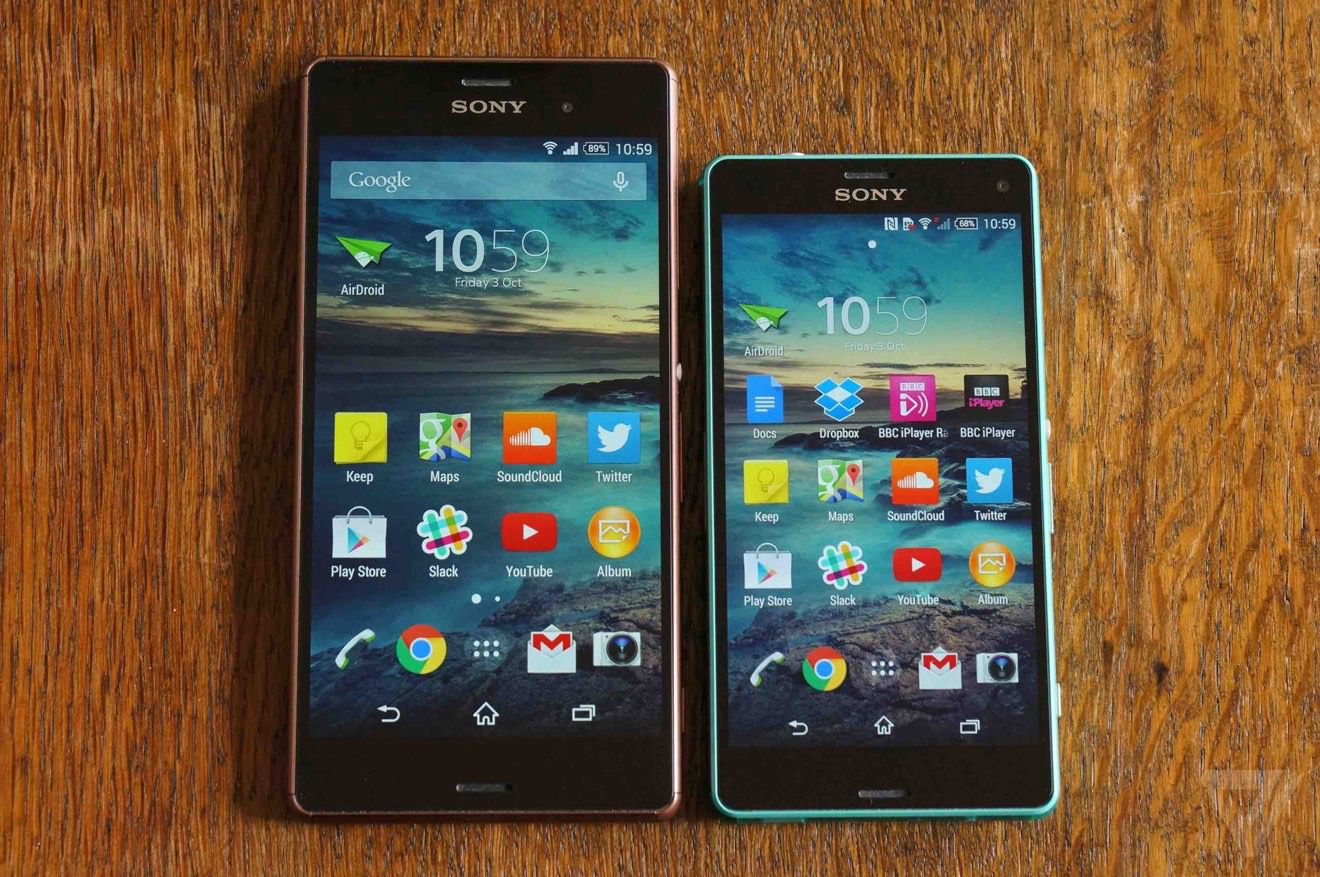 sony xperia z3 and z3 compact review the verge. Black Bedroom Furniture Sets. Home Design Ideas