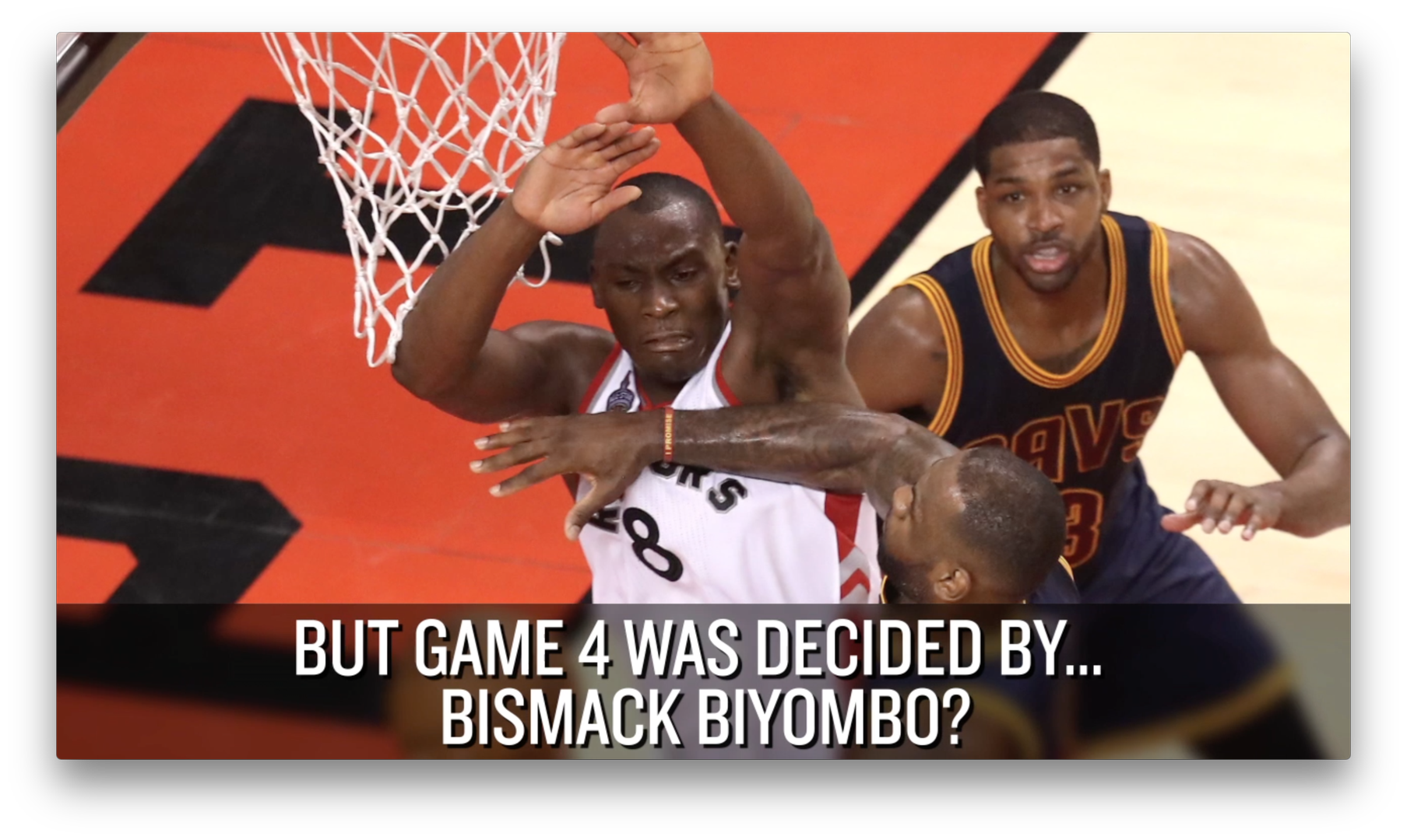 Bismack Biyombo Took The Scenic Route To An Nba Playoffs Breakout Sbnation Com