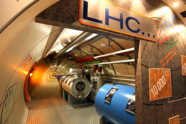 A model of the LHC.