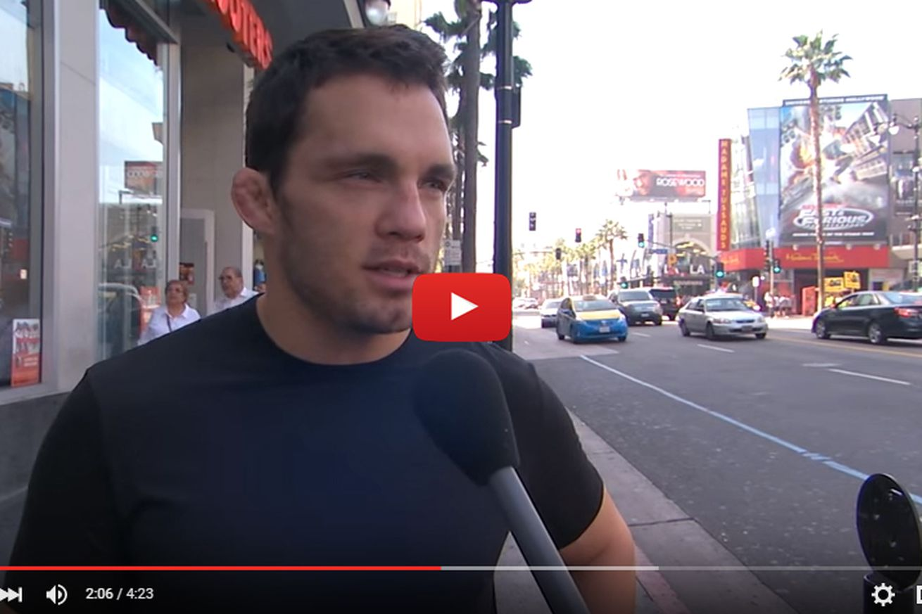 community news, Video: Jake Ellenberger caught fibbing about Donald Trump vote in hysterical Jimmy Kimmel Lie Witness News skit