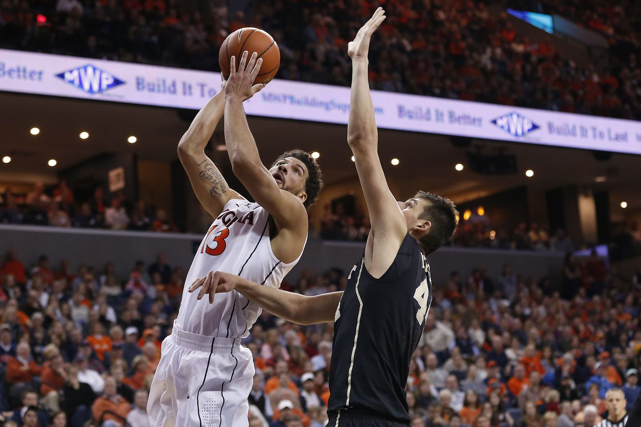 College basketball: Virginia rallies by Wake Forest