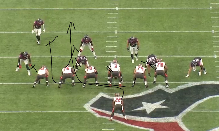NFL Jerseys Cheap - The ups and down of the Bucs' rushing attack against Houston ...
