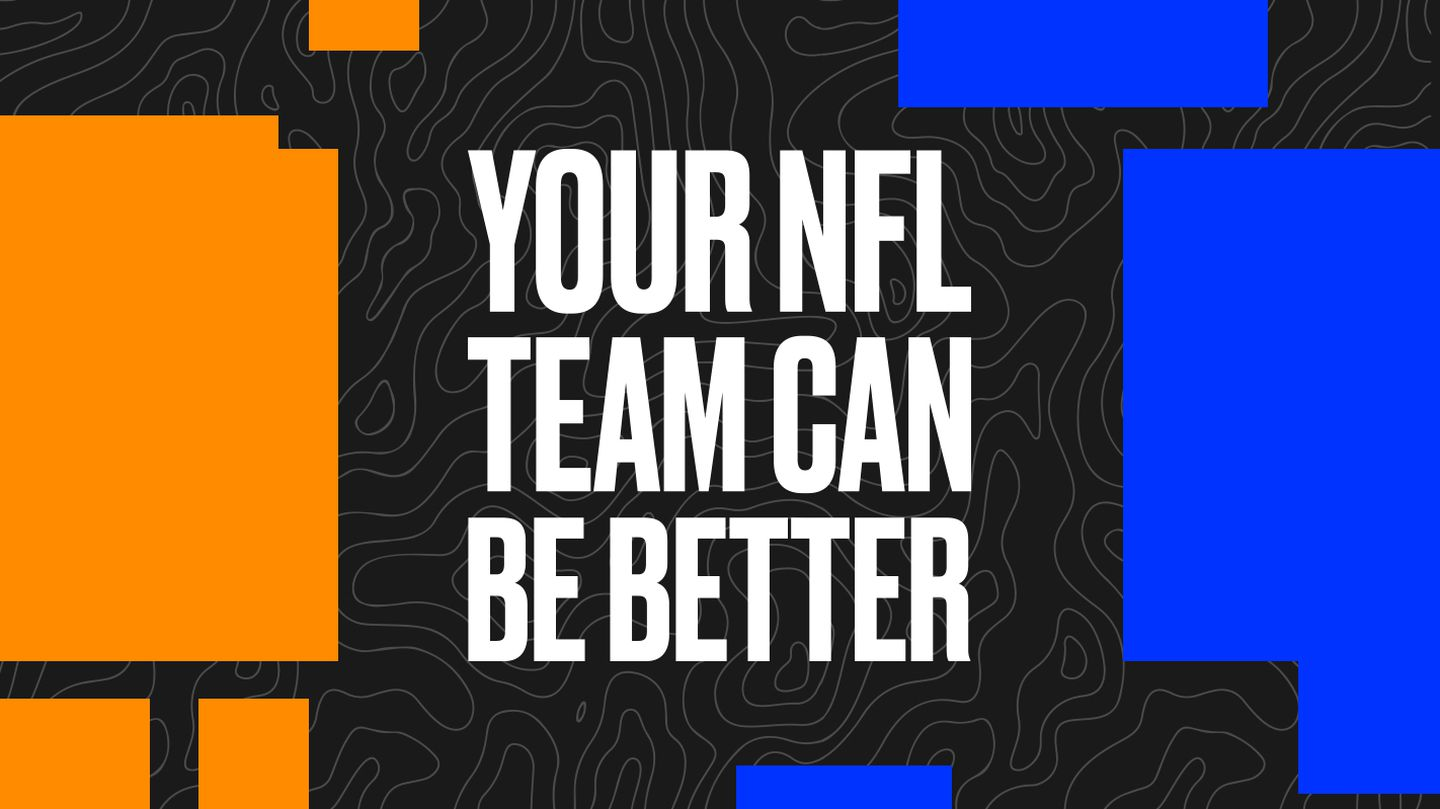 How every NFL team can be better, according to these new