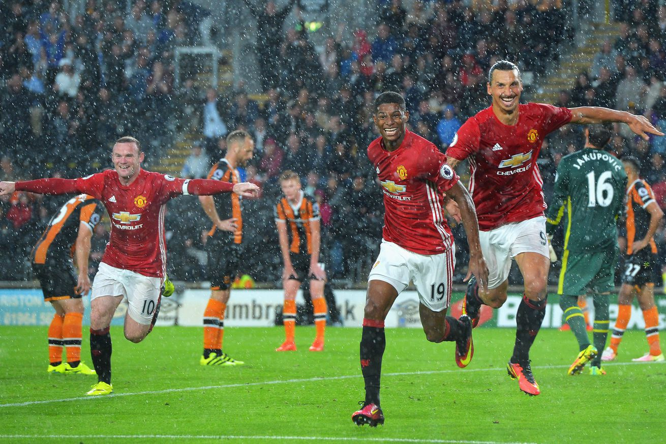Marcus Rashford's late victor sparks wild Man Utd celebrations