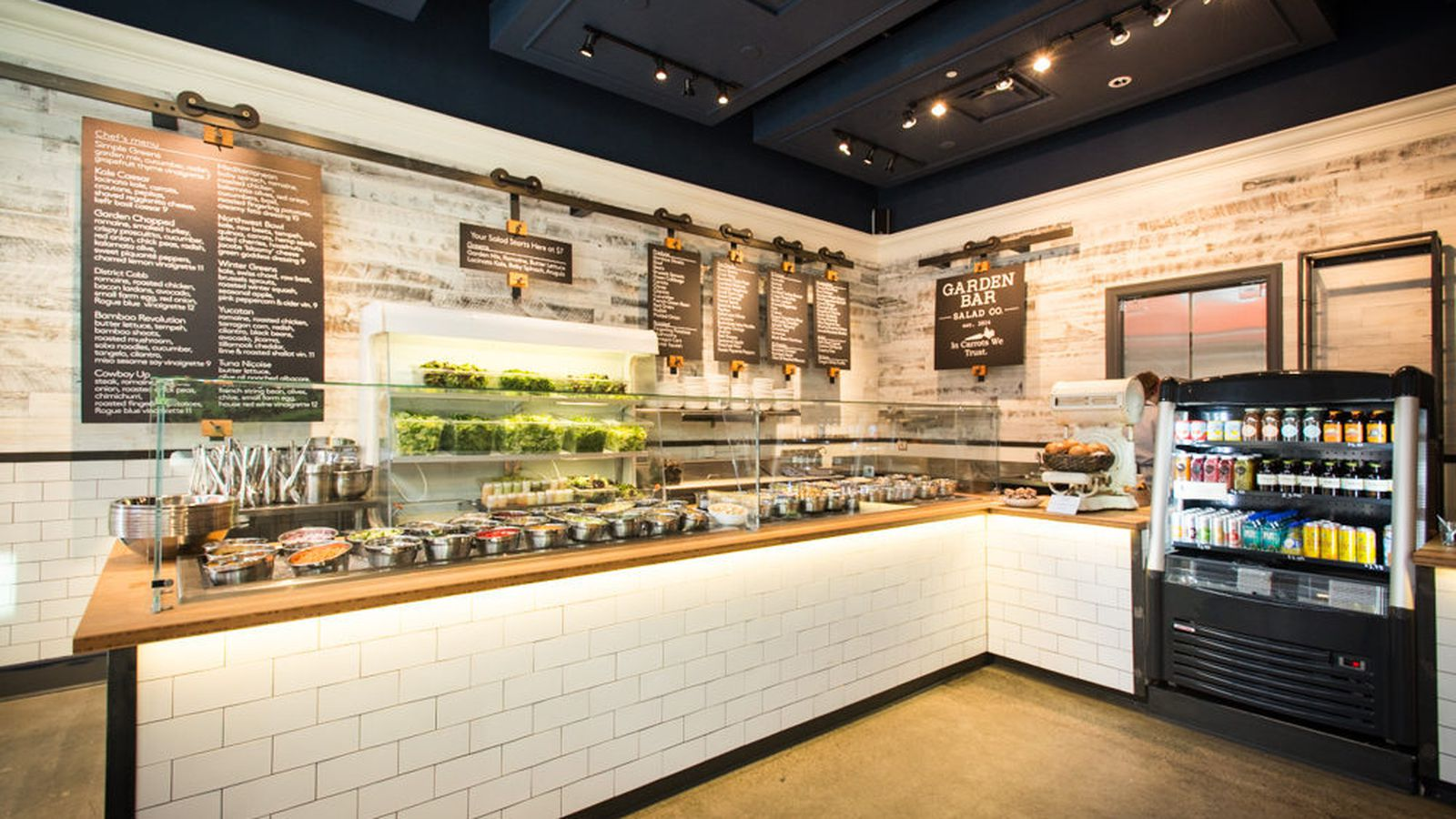 inside fast casual salad spot garden bar open now eater