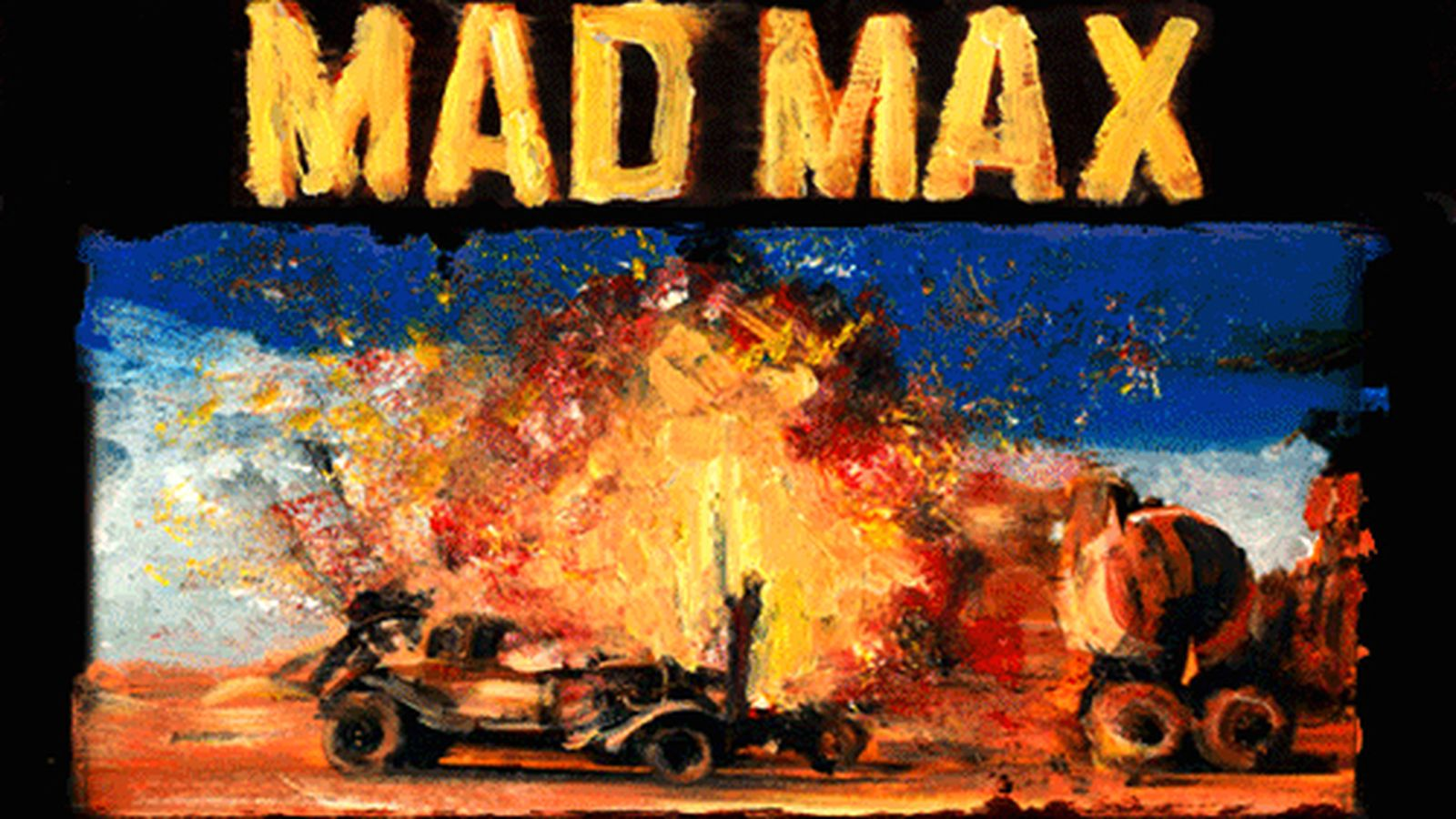 This Beautiful Mad Max Poster Is Animated With Oil