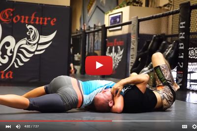 community news, Heres a video of Donald Cerrone getting out grappled by Miesha Tate