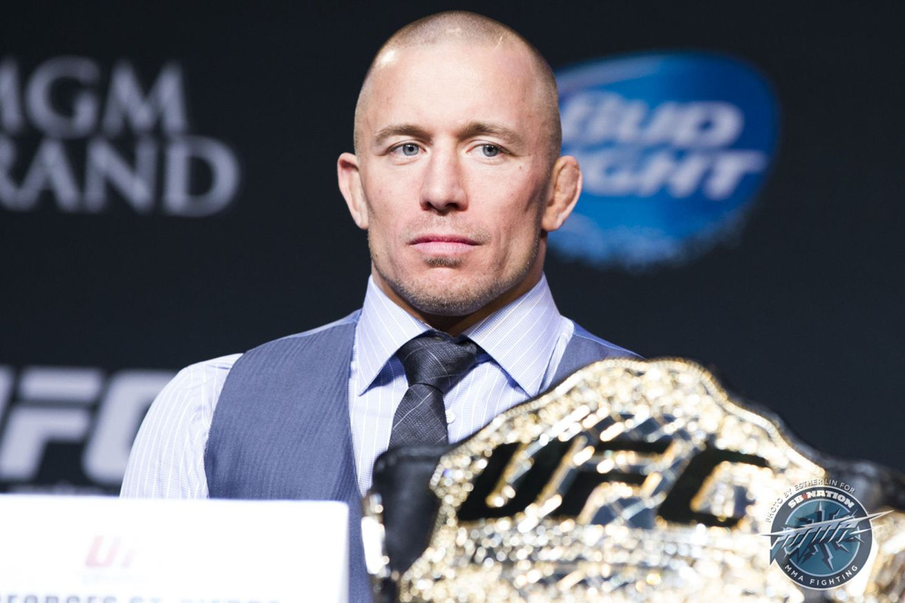 Georges St Pierre: Forget winning another title, I want to fight the biggest names in UFC