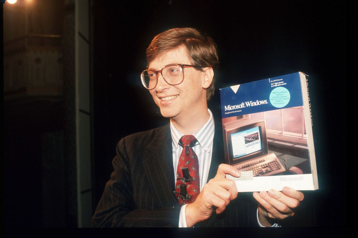 Bill Gates (Carol Halebian)