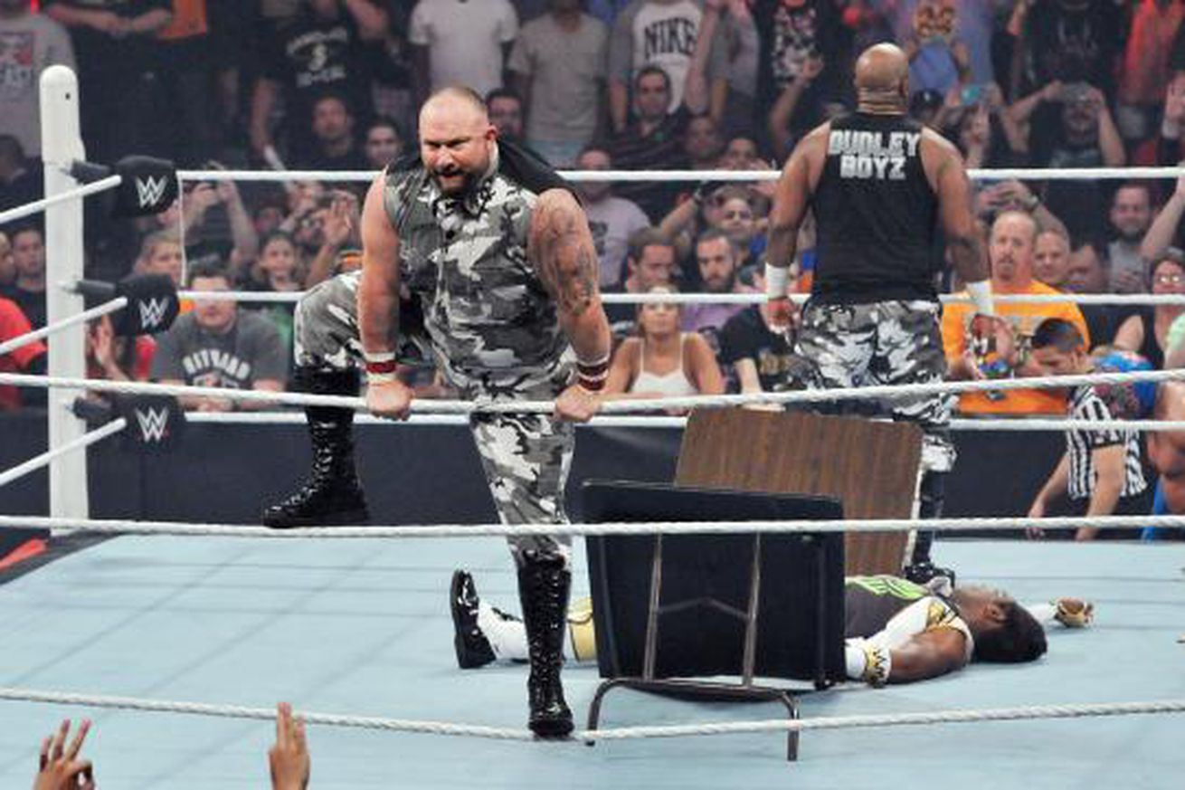 The Dudley Boyz retire