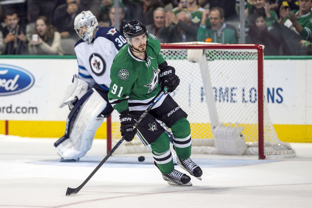 Dallas Stars' Jamie Benn and Tyler Seguin benched