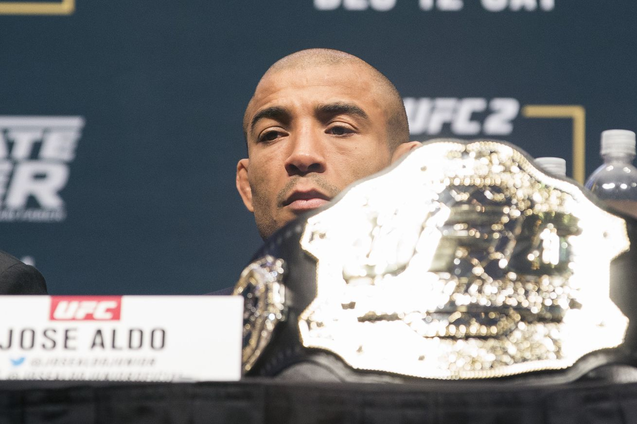 Jose Aldo: UFC interim title 'means nothing'