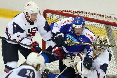 USA Wins In Shootout, Takes 2 Of Three Points From Finland.